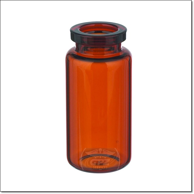 10 ML Unsealed Amber Vial - Case of 1218 - 10MLUACS