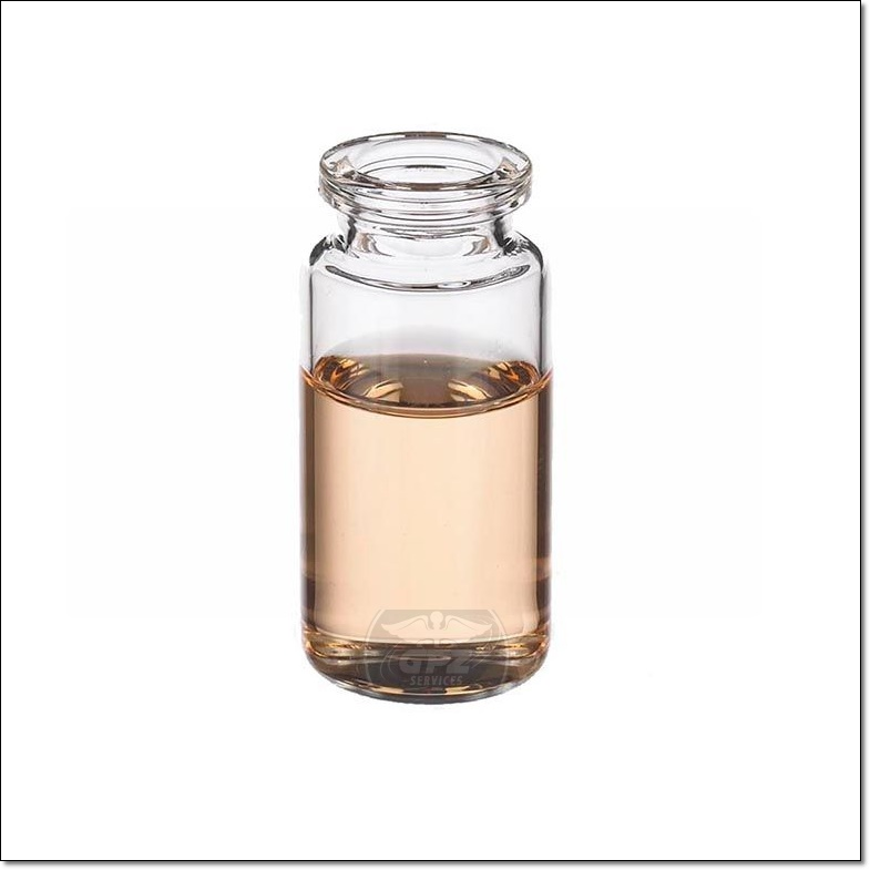 10 ML Unsealed Clear Vial - 10MLUCLR