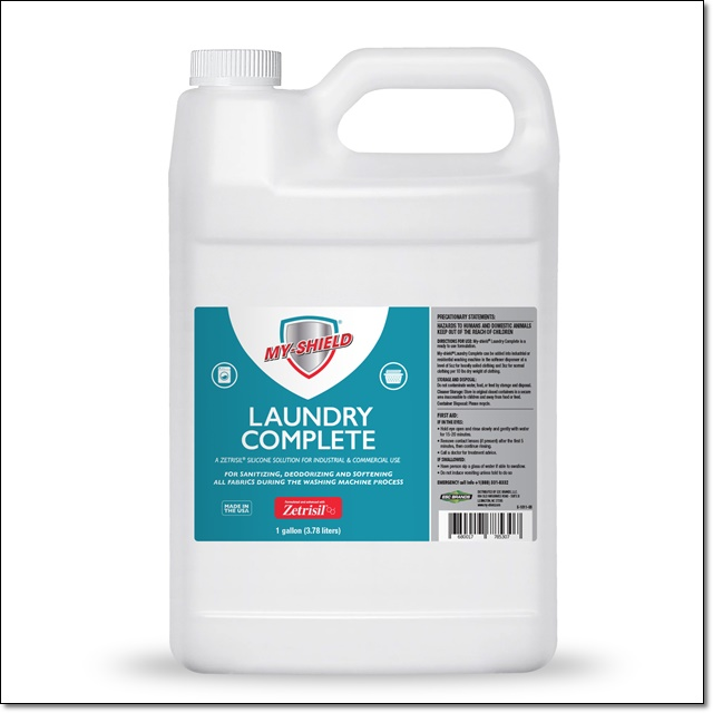 My Shield Laundry Complete - 1 Gallon (128 OZ) Laundry complete, zetrisil, my-shield, my shield laundry complete, Zetrisil laundry complete, gallon, one gallon laundry complete, 128 oz laundry complete, 128 ounce