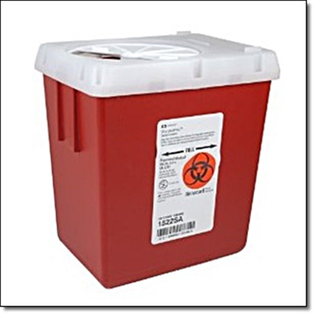Sharps Container - 2.2 Quart
