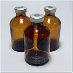 50 ML Presealed Amber Vial