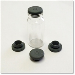 Grey Butyl Vial Stopper