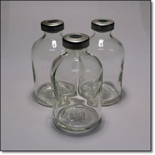 50 ML Presealed Clear Vial