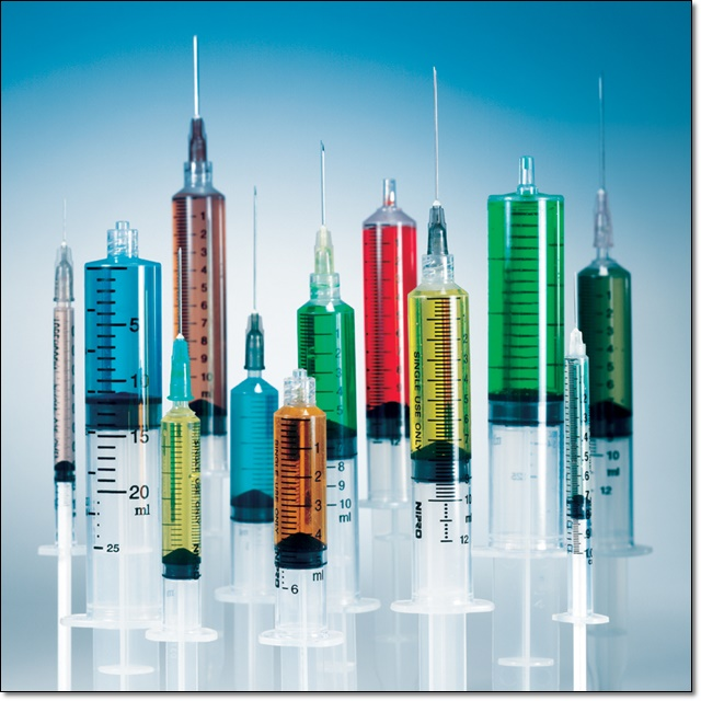 "Nipro - 3 CC Syringe with 20 G X 1.5"" Needle - 100 Count"